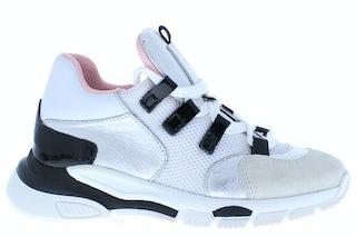 Clic 9855 BC bianco negro Meisjesschoenen Sneakers