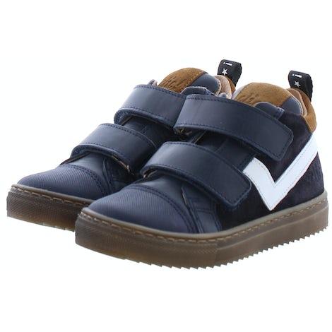 Clic 9863 blu Klittebandschoenen Klittebandschoenen