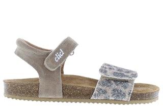 Clic Grass leopardo glitter Meisjesschoenen Sandalen en slippers