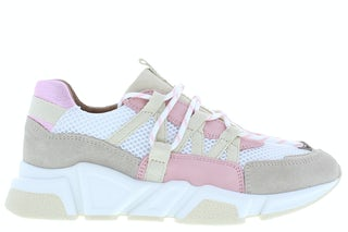 DWRS label Los Angeles white beige pink Damesschoenen Sneakers
