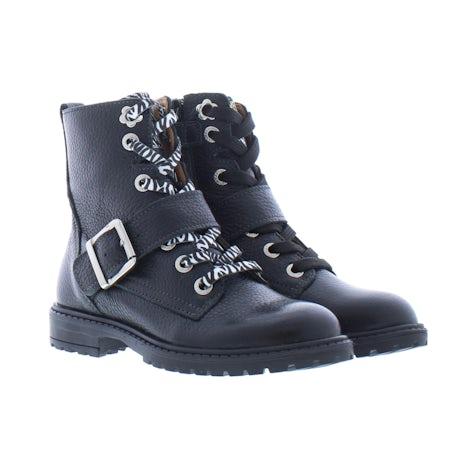 Develab 41662 922 black Booties Booties