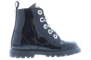 Develab 42100 925 black patent Meisjesschoenen Booties