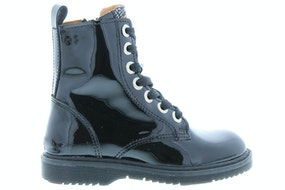 Develab 42236 925 black patent Meisjesschoenen Booties