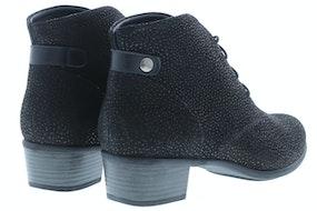 Durea 9603 H 8562 zwart Damesschoenen Booties