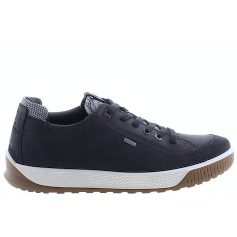 Ecco 501824 02001 black Veterschoenen Veterschoenen