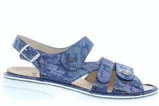 Finn Comfort Gomera 2562 Seablue Damesschoenen Sandalen