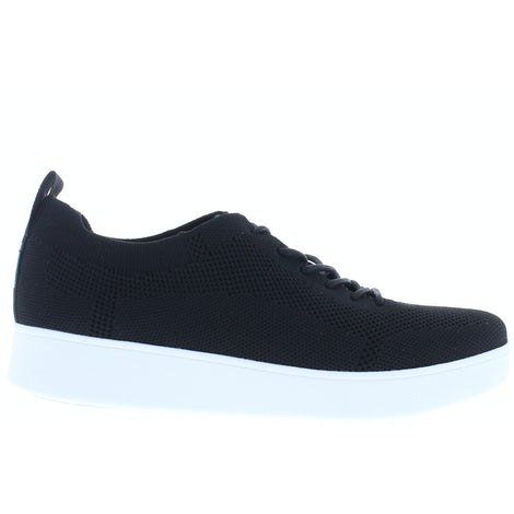 Fit Flop Rally tonal knit DR4 001 black Sneakers Sneakers