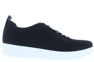 Fit Flop Rally tonal knit DR4 001 black Damesschoenen Sneakers