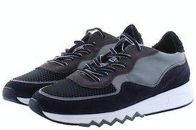 Floris van Bommel 16093/23 black suede Herenschoenen Sneakers