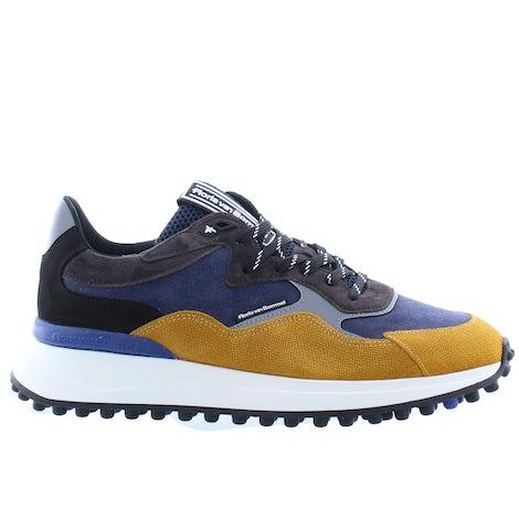 Floris van Bommel 16339/00 yellow print Sneakers Sneakers