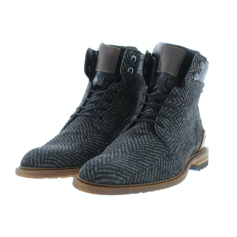 Floris van Bommel 20100/07 d. grey Boots Boots