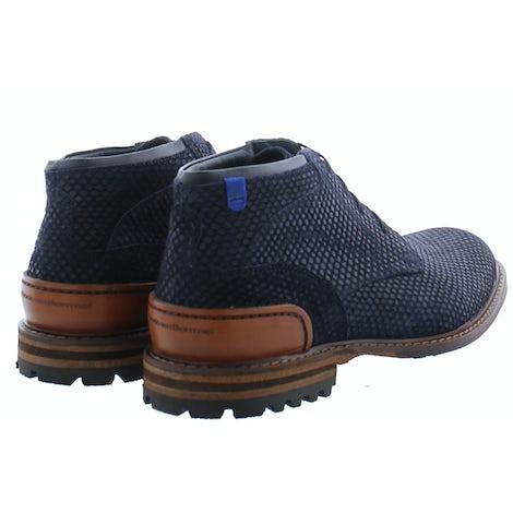 Floris van Bommel 20102/09 blue print Boots Boots