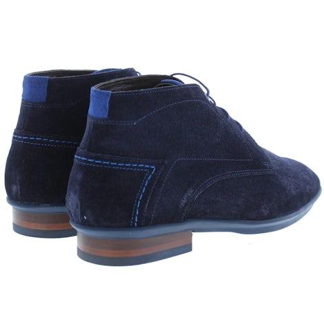 Floris van Bommel 20440/28 navy print Boots Boots