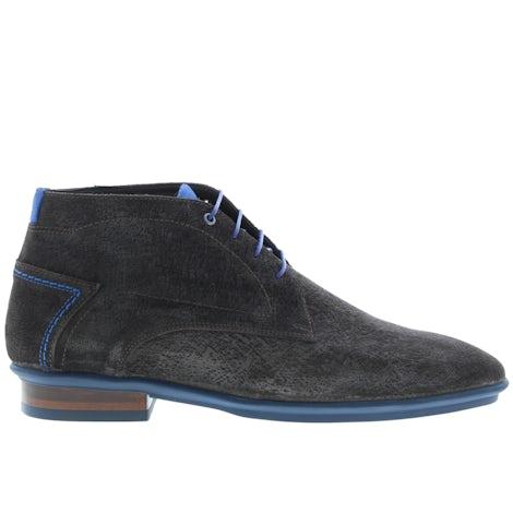 Floris van Bommel 20440/29 d brown print Boots Boots