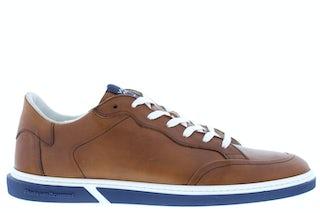 Floris van Bommel 13350/07 cognac Herenschoenen Sneakers