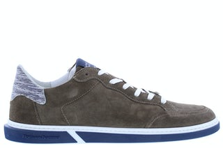 Floris van Bommel 13350/17 taupe Herenschoenen Sneakers