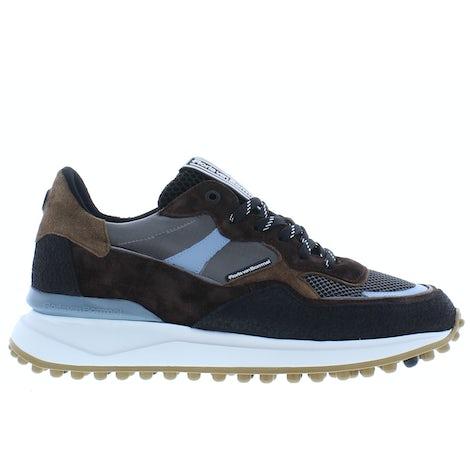 Floris van Bommel 16308/10 beige suede Sneakers Sneakers