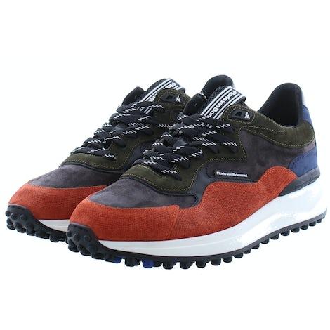 Floris van Bommel 16339/01 orange Sneakers Sneakers