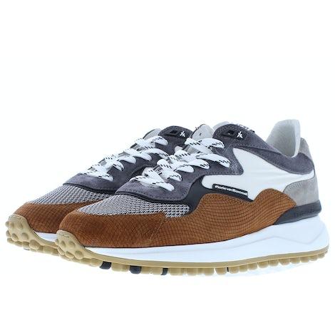 Floris van Bommel 16339/11 cognac Sneakers Sneakers