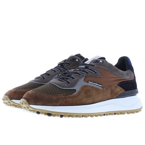Floris van Bommel 16339/20 cognac suede Sneakers Sneakers