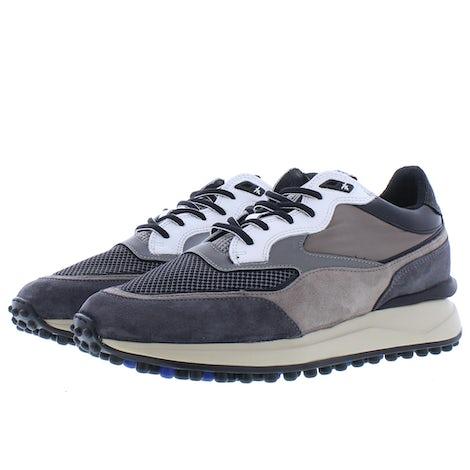Floris van Bommel 16359/01 taupe textile Sneakers Sneakers