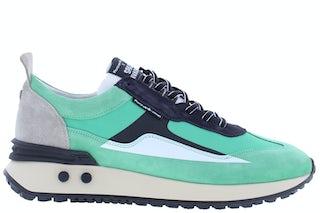 Floris van Bommel 16424/02 turquoise Herenschoenen Sneakers