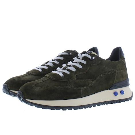 Floris van Bommel 16484/04 dark green Sneakers Sneakers