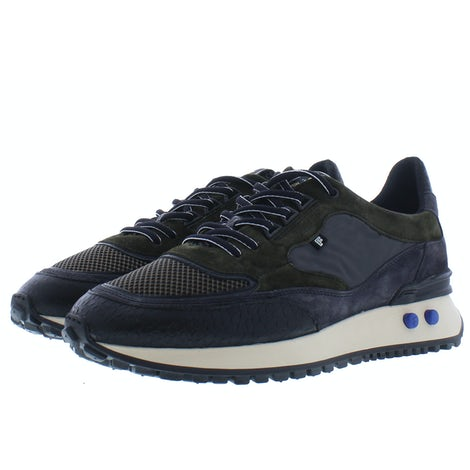 Floris van Bommel 16488/00 dark green Sneakers Sneakers