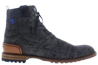 Floris van Bommel 20100/12 dark grey Herenschoenen Boots