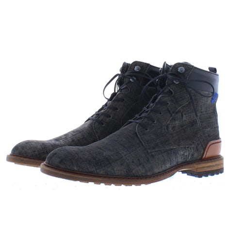 Floris van Bommel 20100/12 dark grey Boots Boots