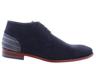 Floris van Bommel 20109/07 blue print Herenschoenen Boots