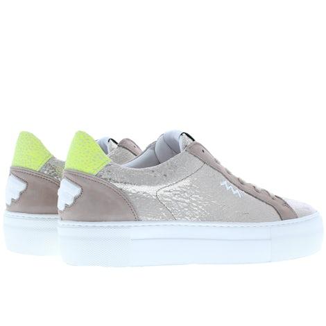 Floris van Bommel 85333/03 taupe met. Sneakers Sneakers