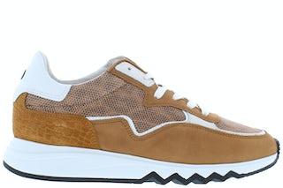 Floris van Bommel 85334/04 cognac Damesschoenen Sneakers