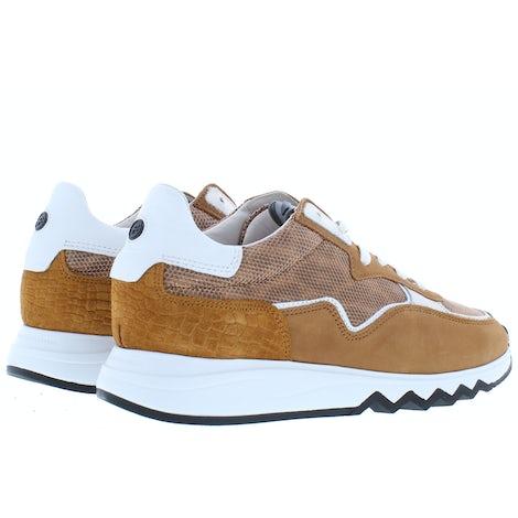 Floris van Bommel 85334/04 cognac Sneakers Sneakers