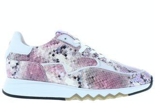 Floris van Bommel 85334/07 pink snake Damesschoenen Sneakers
