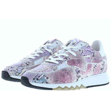 Floris van Bommel 85334/07 pink snake Sneakers Sneakers