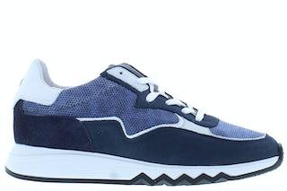 Floris van Bommel 85334/18 navy combi Damesschoenen Sneakers