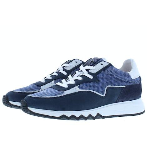 Floris van Bommel 85334/18 navy combi Sneakers Sneakers