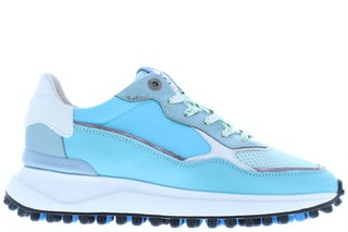 Floris van Bommel 85343/00 br. blue Damesschoenen Sneakers