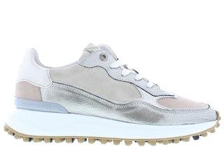 Floris van Bommel 85343/13 beige craquele Damesschoenen Sneakers