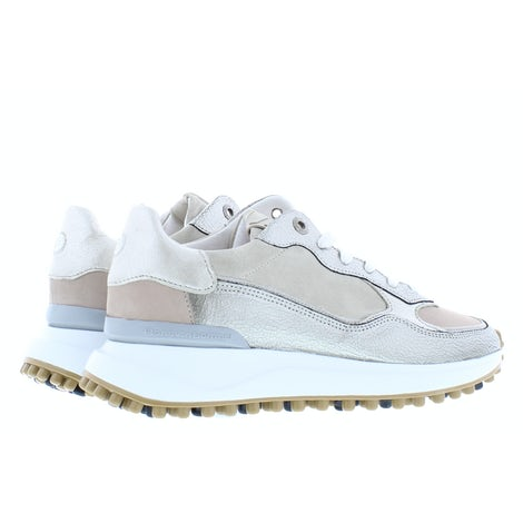 Floris van Bommel 85343/13 beige craquele Sneakers Sneakers