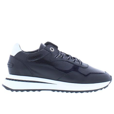 Floris van Bommel 85351/00 black snake Sneakers Sneakers