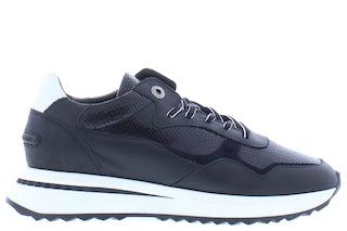Floris van Bommel 85351/00 black snake Damesschoenen Sneakers