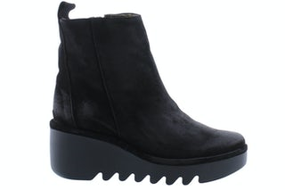Fly London Bale 250 black Damesschoenen Enkellaarsjes