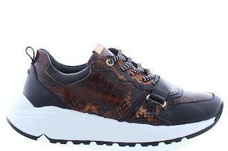 Fred de la Bretonniere 101010148 cognac Damesschoenen Sneakers