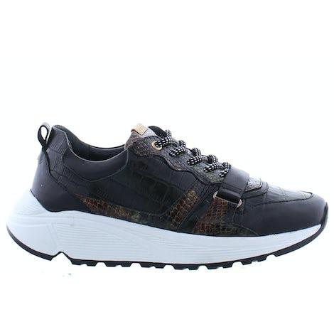 Fred de la Bretonniere 101010148 dark green Sneakers Sneakers