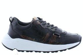 Fred de la Bretonniere 101010148 dark green Damesschoenen Sneakers
