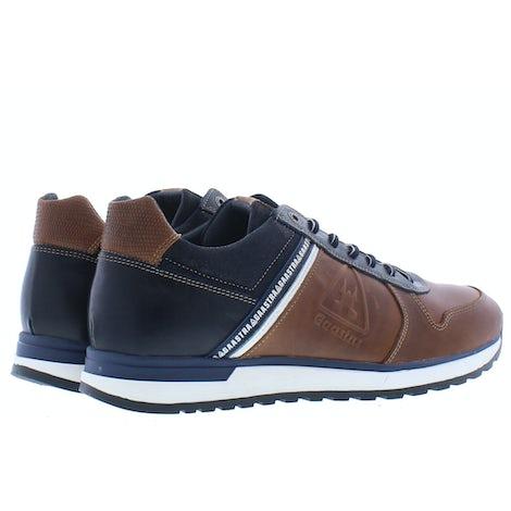 Gaastra Kevan BLK cognac Sneakers Sneakers