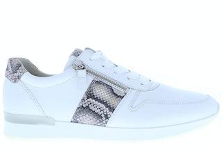 Gabor 63.420.22 weiss leinen Damesschoenen Sneakers
