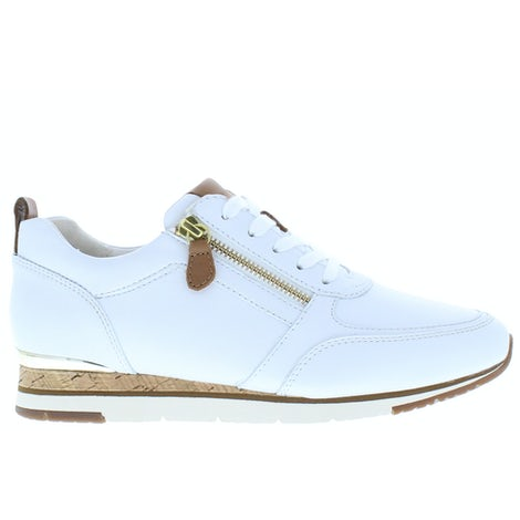 Gabor 63.431.21 weiss cognac Sneakers Sneakers